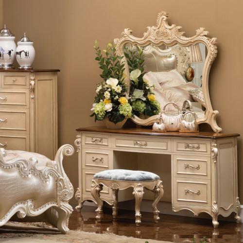 Celeste Vanity Dresser (Mirror & Bench Extra)