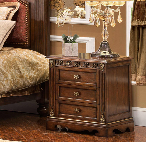View of the St. Augustine Cacao Nightstand