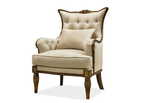 View of the Rockefeller Accent Chair
