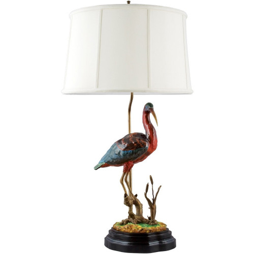 Perched Ibis Lamp