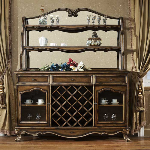 Parisian Sideboard with Hutch