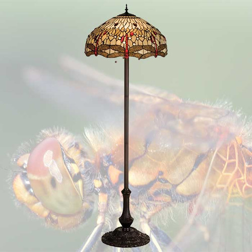 Dragonfly Floor Lamp
