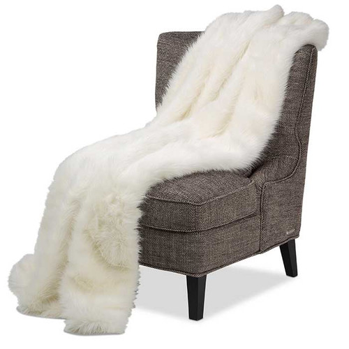Arctic Fox Throw
