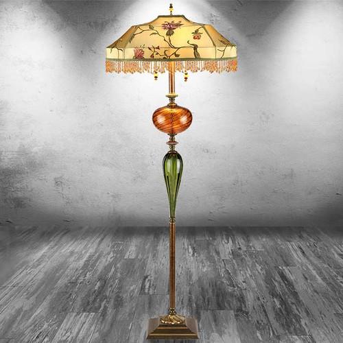 Jamie Beaded Floor Lamp