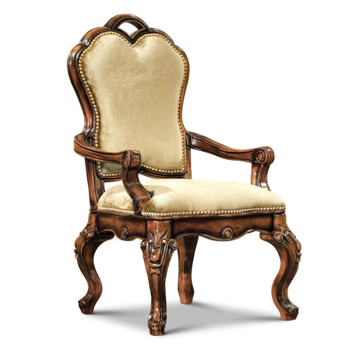 Palisades Antique Walnut Arm Chair