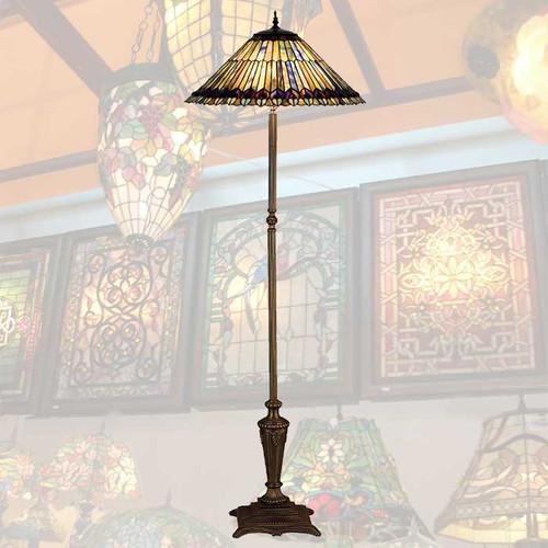 Glowing Jewels Floor Lamp
