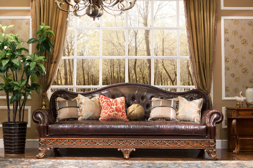 View of the Maurice Mansion Sofa.