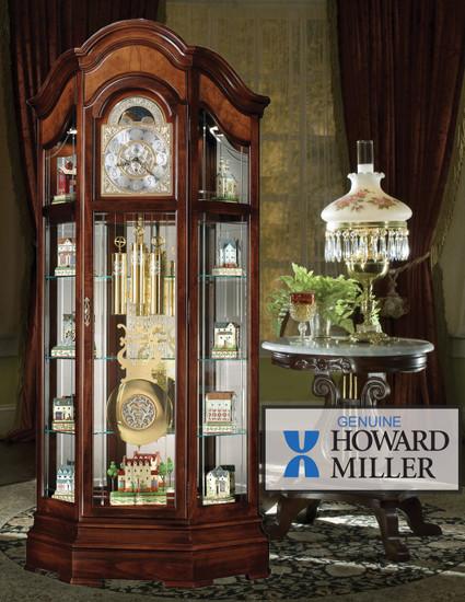 View of the Majestic II Floor Clock