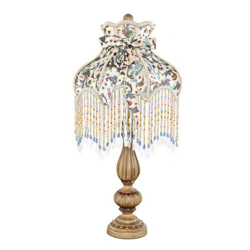 Victorian Floral Lamp