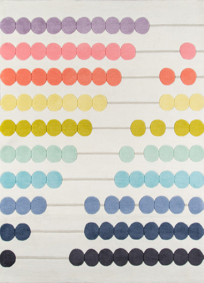 Abacus Counting Rug