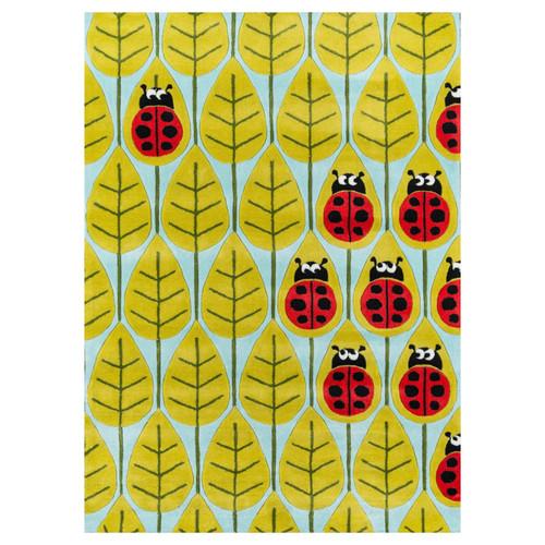 Ladybug Family Rug