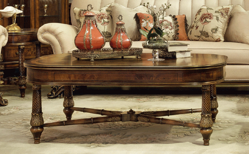 View of the Rockefeller Coffee Table