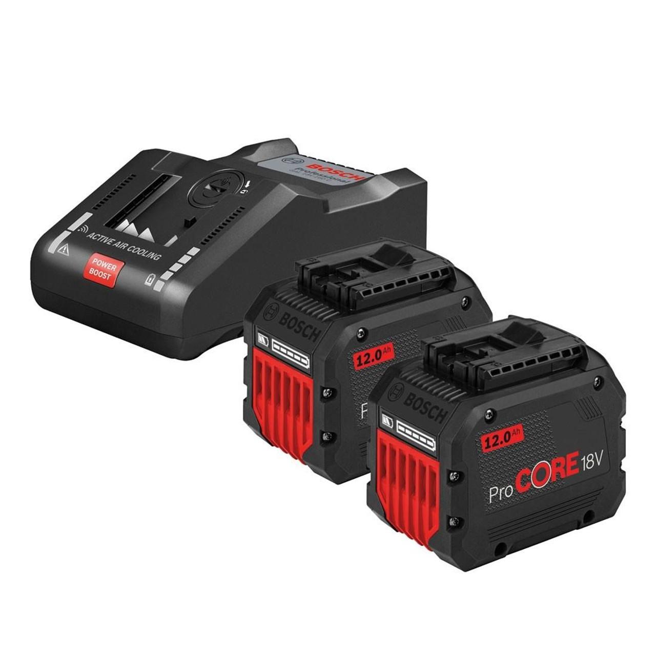 2 x 18V 4,0 Ah ProCore + AL1820CV BOSCH Power Set
