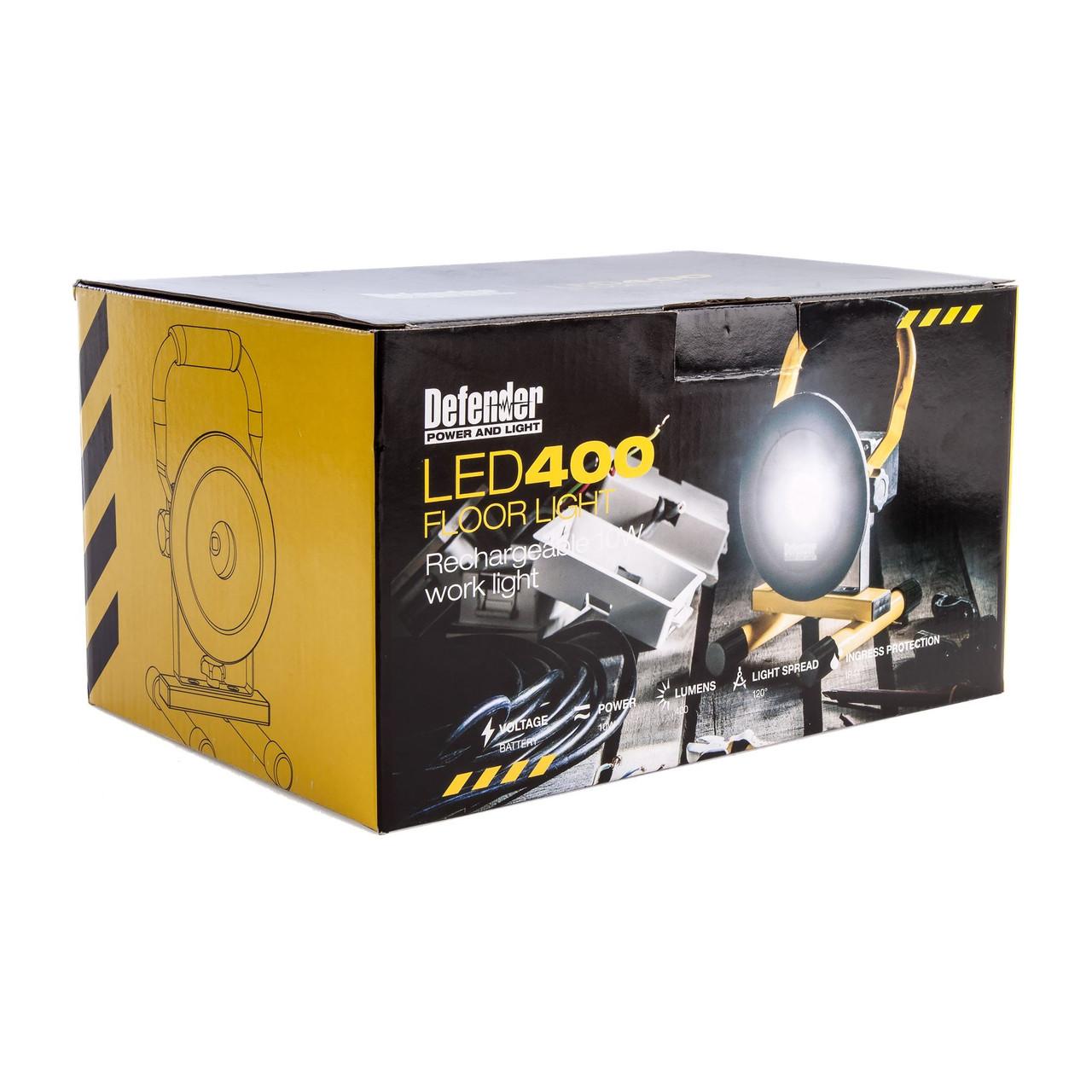 Defender LED 400 Floor Standing Work Light 240v