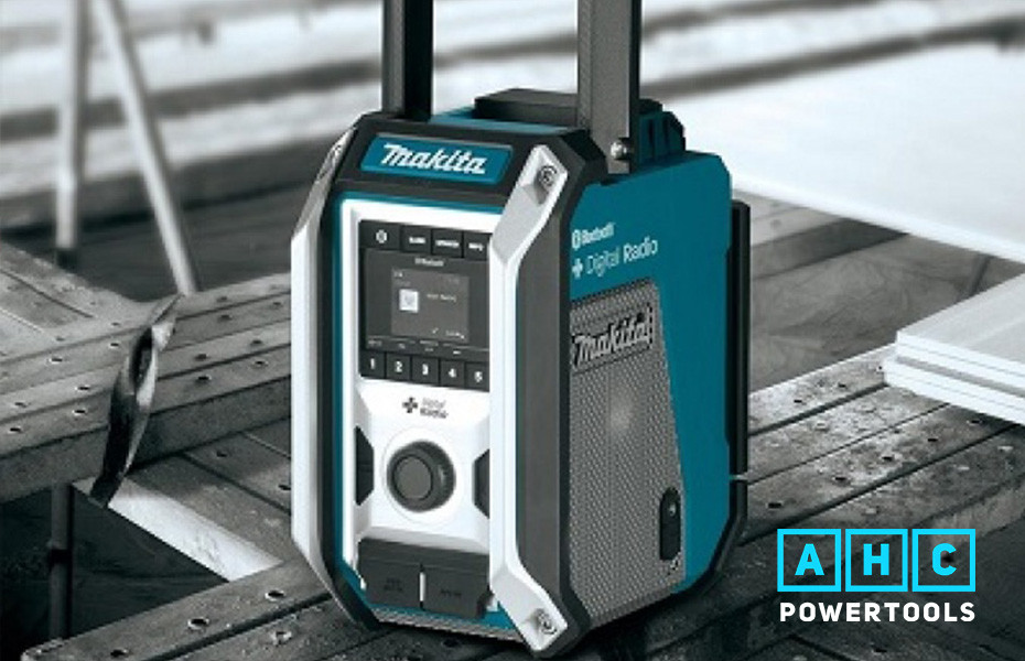Make Jobs More Exciting With Makita's DMR115 Jobsite Radio