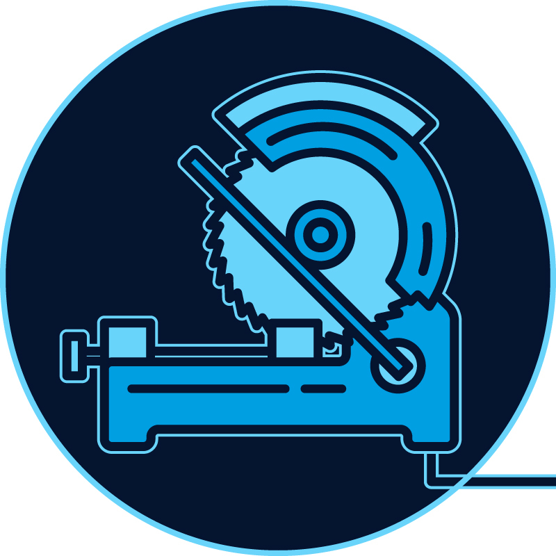 Corded Metal Cutting Saws