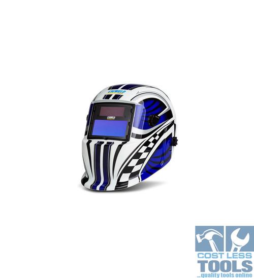 CigWeld WeldSkill Auto-Darkening Helmet Racer - 454321
