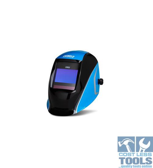 CigWeld ProPlus Digital Auto Darkening Welding Helmet - Blue - 454350