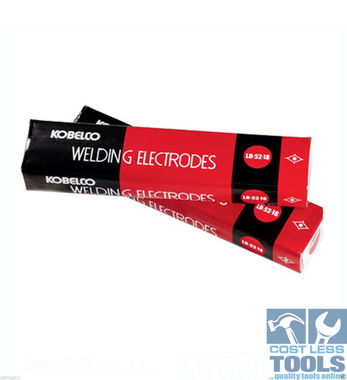 Bossweld Kobelco LB52-18 Electrodes - 2.6mm x 5Kg - 100061