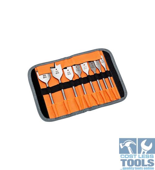 Bahco 8 Piece Spade Bit Set (13mm-38mm) - SB-9529/S8
