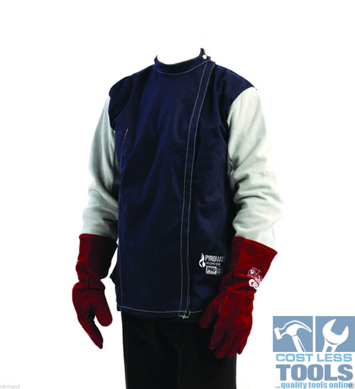 ProChoice Cotton Drill Welding Jacket - Various Sizes Available
