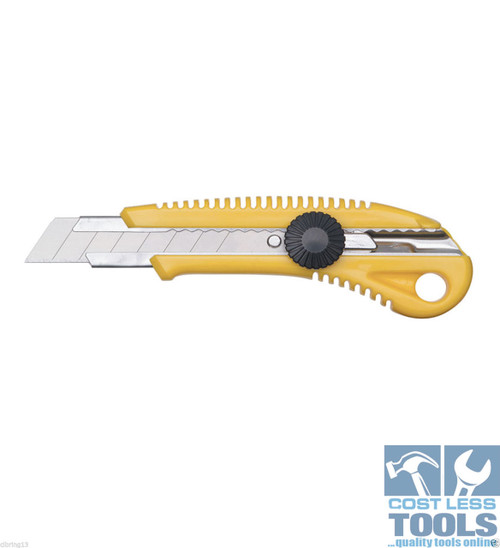 Sterling 18mm Large Snap-Off Cutter with Screw Lock - 550-1