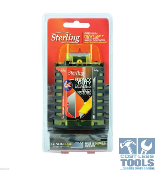 Sterling Heavy Duty Blade Dispenser 100 Pack - 921-2D
