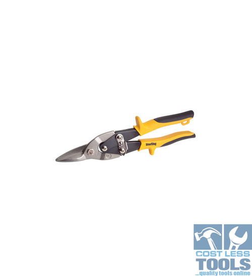 Sterling Yellow Straight Cut Aviation Tin Snips - 29-753