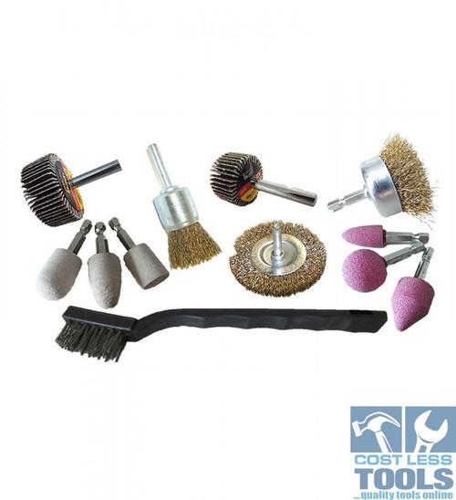 Josco 12 Piece Drill Accessory Kit - BDAK12