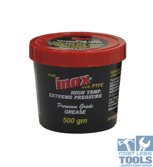 Inox MX8 Extreme Pressure Premium Grease 500gm Tub - Water & Salt Resistant