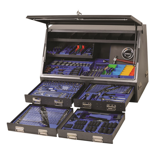 """Kincrome Tools Only - Upright Truck Box Toolkit 383 Piece 1/4, 3/8 & 1/2"""" Square Drive"""
