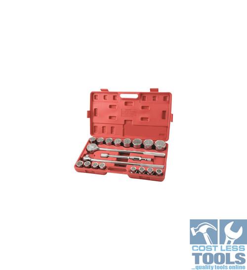 "Supatool Socket Set 20 Piece 3/4"" Square Drive"