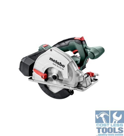 Metabo 18V Cordless Metal Circular Saw Skin - MKS 18 LTX 58