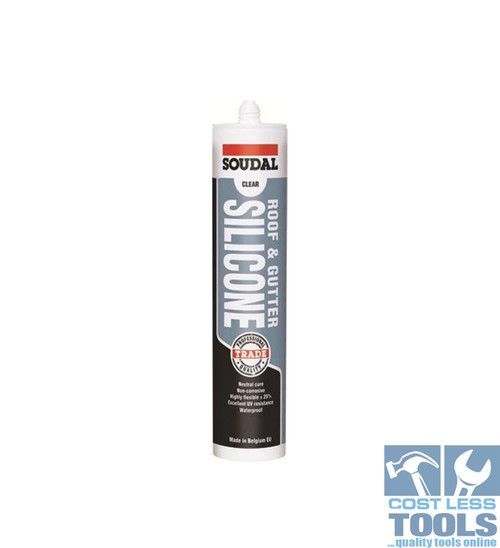 Soudal Roof & Gutter Translucent 300ml - Box of 12