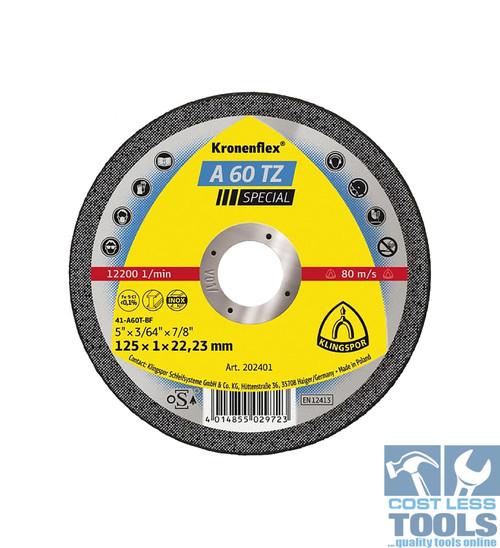 Klingspor Ultra Thin Metal Cutting Discs - 25 Pack