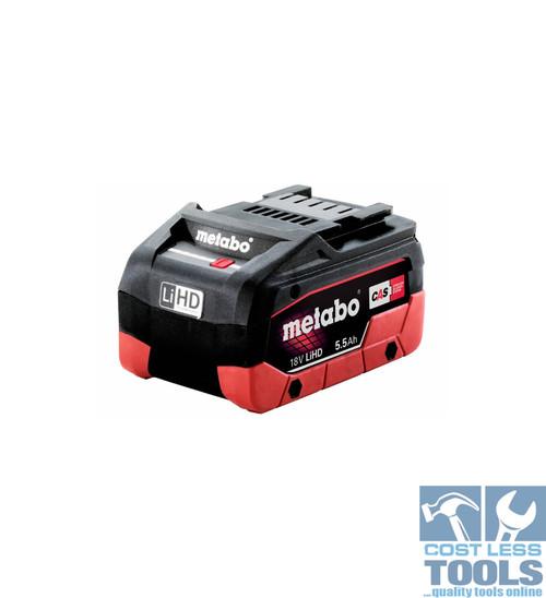 Metabo Battery 18V LiHD 5.5AH - 625368000