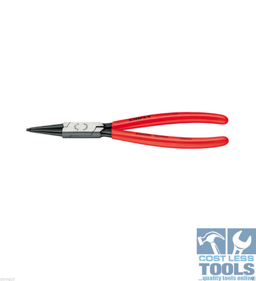 Knipex Internal Circlip Pliers Straight Tips 40-100mm - 44 11 J3
