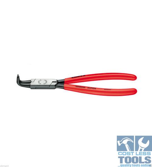 Knipex Internal Circlip Pliers 90° Angled Tips 40-100mm - 44 21 J31