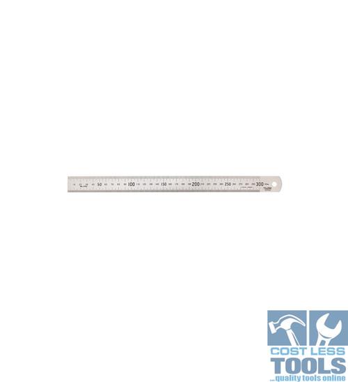 Toledo S/Steel Single Sided Metric Rule 300mm