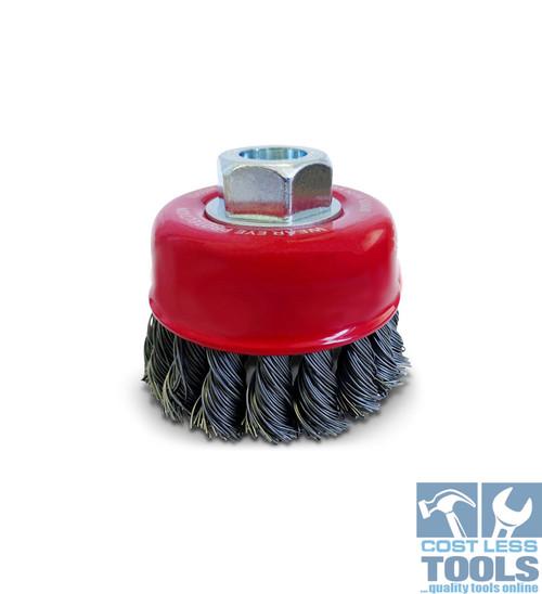 Josco 0.35mm Steel Twist Knot Wire Cup Brush