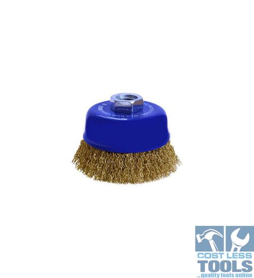 Tomcat Multi-thread 75mm Crimped Cup Brush