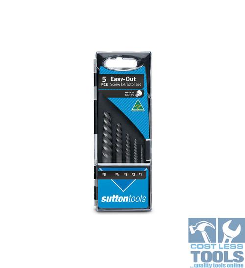Sutton Screw Extractor Set #1 - #5