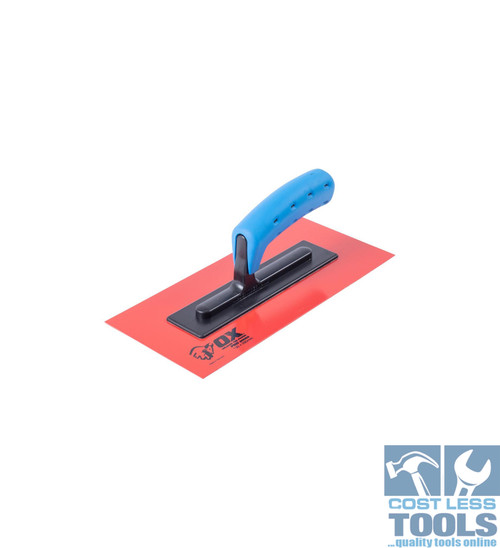 OX Red Texture Finishing Trowel OX-P408511