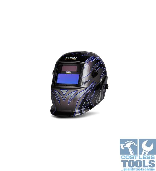 CigWeld WeldSkill Auto-Darkening Helmet Tribal - 454322