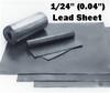 "(2.5#) Sheet Lead 1/24""  1' x 25 FOOT Lead Flashing Roll- Special"