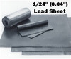 "(2.5#) Sheet Lead 1/24""  FT 4' x 10'"