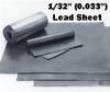 """(2#) Sheet Lead 1/32""""  1' x 2'"""