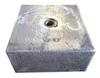 """Magnesium Block Anode 4"""" x 8"""" x 8"""""""