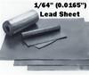 """(1#) Sheet Lead 1/64"""" 1' x 4'"""