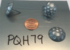 """PQH79 - Hammered Antique Pewter Nail/Clavos Head  - Head Size: 13/16"""" Nail Length: 5/8"""" - 50 per box"""